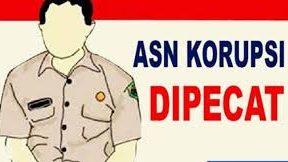 Ilustrasi ASN Dipecat karena korupsi. Foto: istimewa