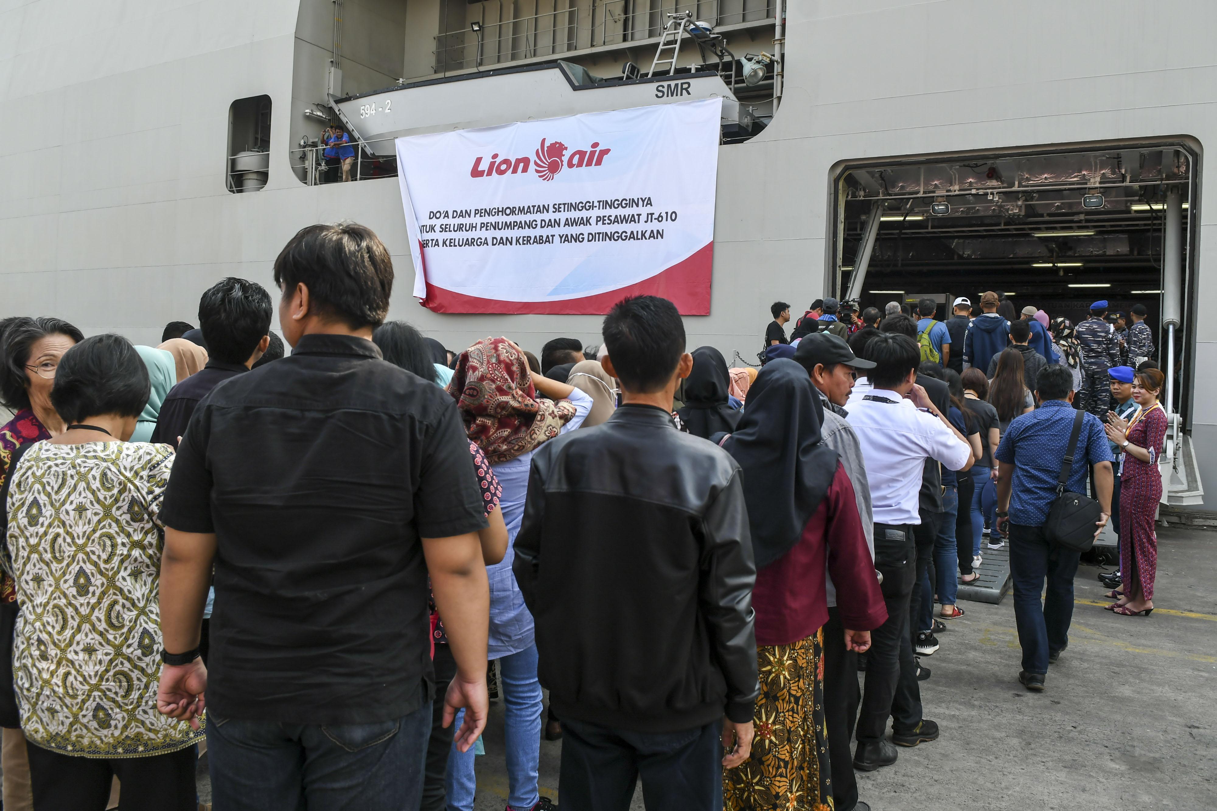 Keluarga Korban Peringati Satu Tahun Kecelakaan Lion Air JT-610