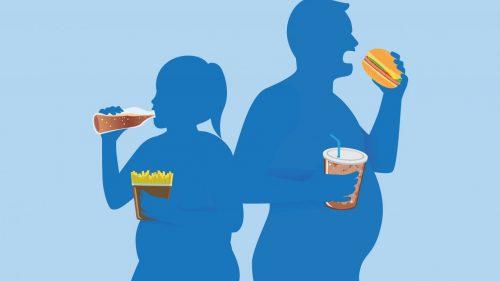 Ilustrasi kenaikan berat badan. Foto: genengnews.com