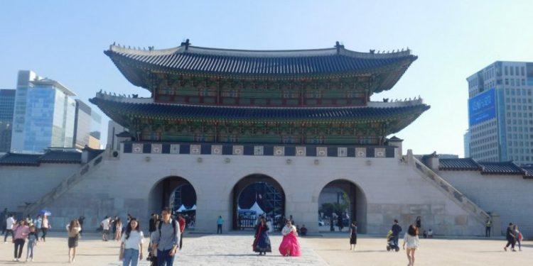 Salah satu sudut di Gyeongbukgung Palace, Seoul, Korea Selatan (ilustrasi). Foto: ANTARA