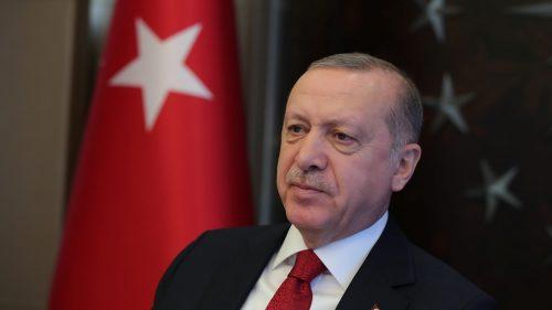 Presiden Turki Recep Tayyip Erdogan. (Murat Kula - Anadolu Agency )