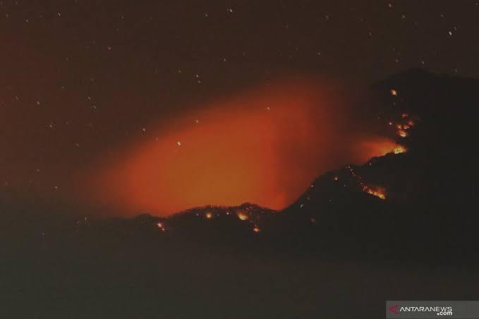Gunung Raung. Foto: antara